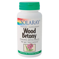 Solaray - Wood Betony 300 mg. - 100 Capsules