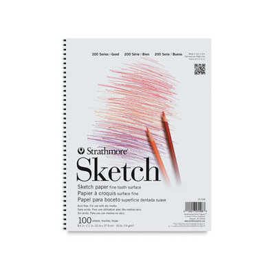 Strathmore 200 Series 9 x 12 Tape Bound Sketch Pad