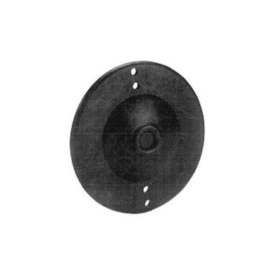 Thomas and Betts 4051 3-1/4-inch Round Cover Blank with Knockouts