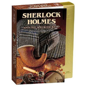 University Games Sherlock Holmes & The Speckled Band Mystery Jigsaw Puzzle 1000 pc Ages 15+
