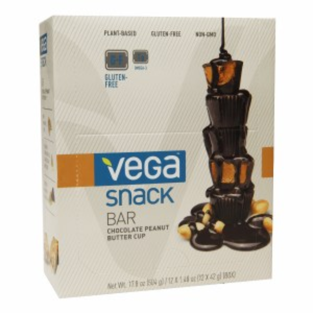 Sequel Vega Snack Bars - Chocolate Peanut Butter Cup