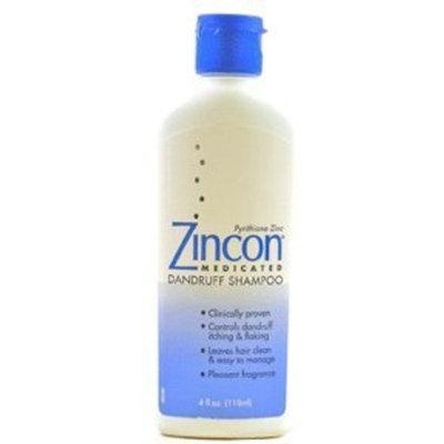 Zincon Medicated Dandruff Shampoo: 4 OZ