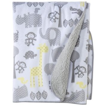 Soft Valboa Baby Blanket - Zigs 'n Zags by Circo