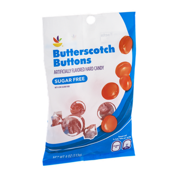 Ahold Butterscotch Buttons Hard Candy Sugar Free