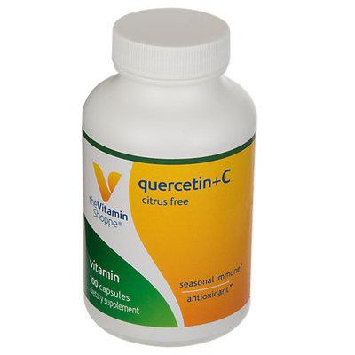Vitamin Shoppe Quercetin + C (Citrus Free) - 100 Capsules - Quercetin Complex