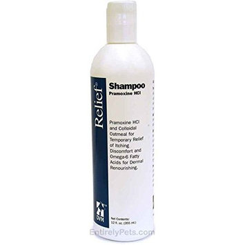 DVM Pharmaceuticals Relief Pet Shampoo, 12-Ounce