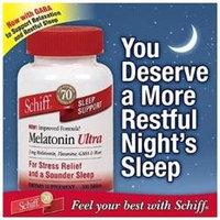 Schiff Melatonin Ultra Sleep Support, Melatonin 3 mg Plus More, 300 Tablets