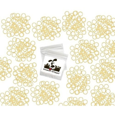 Downtown Pet Supply Orthodontic Elastics Rubber Bands Great for Dog Grooming Top Knots, Bows, Braids, and Dreadlocks