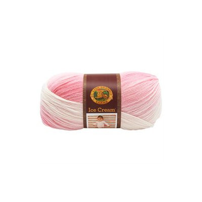 Lion Brand Ice Cream Yarn (Strawberry)