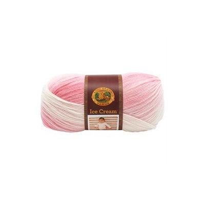 Lion Brand Ice Cream Yarn (Strawberry)