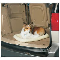 midwest pets White Synthetic Sheepskin Rectangular Dog Bed QT40224