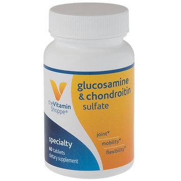 Vitamin Shoppe Glucosamine & Chondroitin Sulfate - 60 Tablets - Glucosamine & Chondroitin