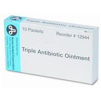PhysiciansCare Antibiotic Ointment, Refill, 10 Tubes Per Box