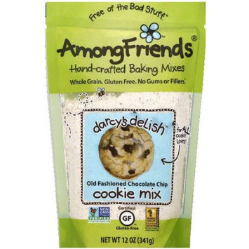 Among Friends Darcy's Delish Old Fashioned Chocolate Chip Cookie Mix, 12 oz, (Pack of 6)
