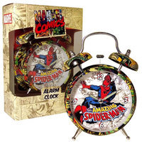 Bb Designs Spiderman Comic Print Alarm Clock