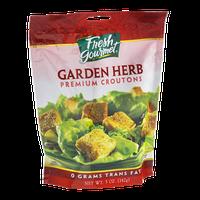 Fresh Gourmet Premium Croutons Garden Herb