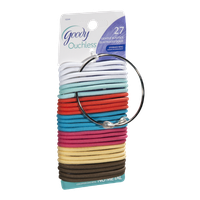 Goody Ouchless Elastics Gentle St. Croix Color - 27 CT