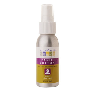 Aura Cacia Aromatherapy Mist Essential Solutions Panic Button
