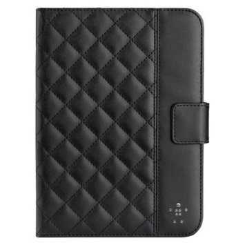 Belkin iPad Mini Quilted Tab Folio - Black (F7N007ttC00)