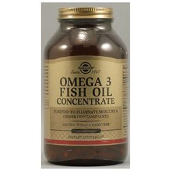 Solgar - Omega 3 Fish Oil Concentrate - 120 Softgels