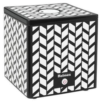 Holmes Ultrasonic Cube Humidifier- Blk/Wht Design