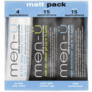 Men-u Matt Pack Mini Set 3 x 15ml