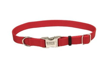 Coastal Pet Products Titan Metal Buckle Adjustable Nylon Collar 1