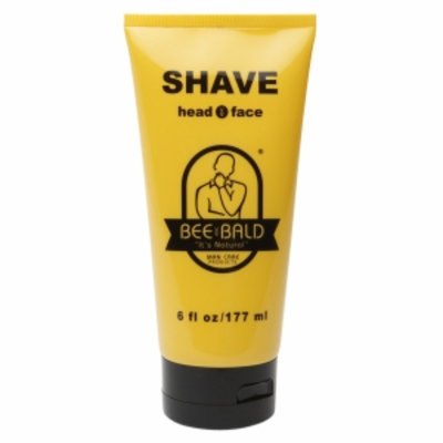 Bee Bald Shave For Head & Face, 6 oz