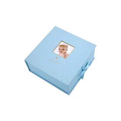 Pearhead Sweet Welcome Blue Keepsake Box