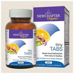 New Chapter Tiny Tabs Whole-Food Multivitamin - 192 Tablets