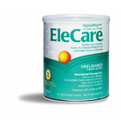 Elecare Nutritionally Complete Amino Acid based Medical Food with Iron, Powder, 14.1 Ounces