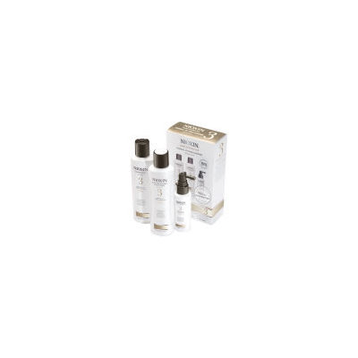 NIOXIN Hair System Kit 3 for Fine Chemically Treated Hair (3 Products)