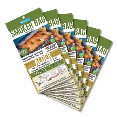 Cameron'S Products Emeril'S 6-Pk. Alder Smoker Bags