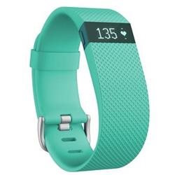 FitBit Charge HR Heart Rate + Activity Wristband Large - Teal (Blue)
