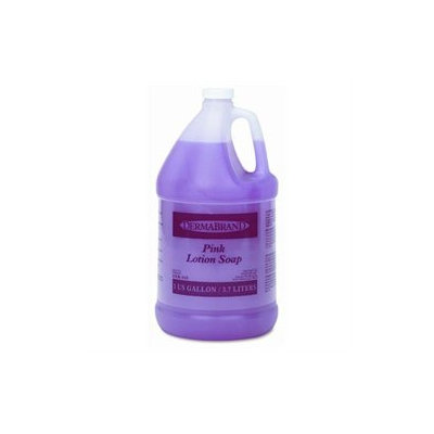 Dermabrand Pink Lotion Soap, Unscented, 1 Gallon, 4/Ctn