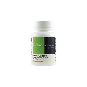 Davinci Melatonin 3 MG - 60 Capsules - Other Supplements