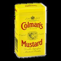 Colman's of Norwich Original English Mustard Powder Double Superfine