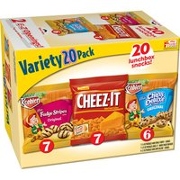 Keebler Fudge Stripes/Cheez-It/Chips Deluxe Cookies & Crackers Variety Pack