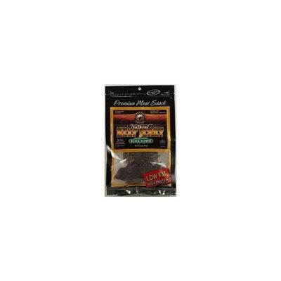 Golden Valley Natural Natural Beef Jerky Black Pepper -- 4 oz