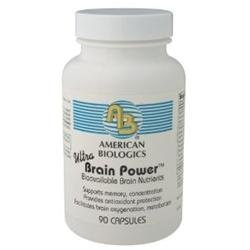 American Biologics - Ultra Brain Power - 90 Capsules