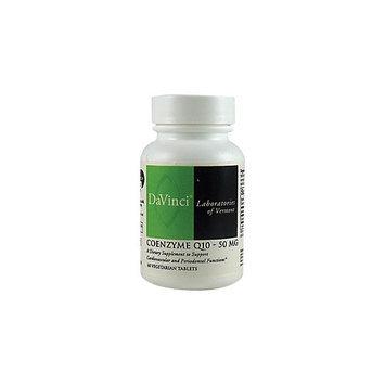 DaVinci Laboratories - CoEnzyme Q10 50 mg. - 60 Vegetarian Tablets