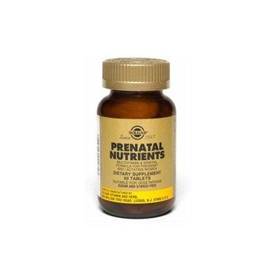 Solgar Prenatal Nutrients - 240 Tablets - Prenatal Multivitamins