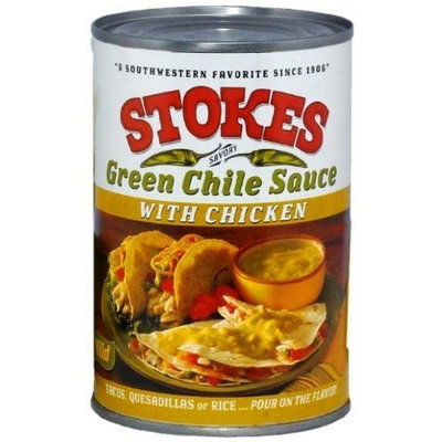 Hatch Chile Company Stokes Green Chile Sauce with Chicken, 15 Ounce