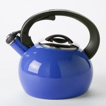 Food Network 2-qt. Whistling Teakettle (New Blue)