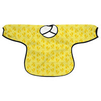 i play Slicker Waterproof Toddler Bib in Yellow Ducks