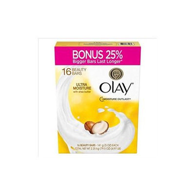 Olay Ultra Moisture with Shea Butter Beauty Bars (5 oz, 16 ct.)