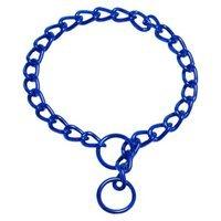 Platinum Pets Coated Chain Training Collar - Blue (22
