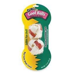 Dingo Brand DDB30050 Dingo Goof Balls Lg 2Pk