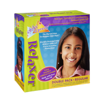 Sofn'Free N' Pretty Extra Sensitive Children's Formula Regular Double Pack Relaxer
