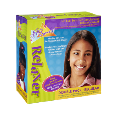 Sofn'Free N' Pretty Extra Sensitive Children's Formula Regular Double Pack Relaxer